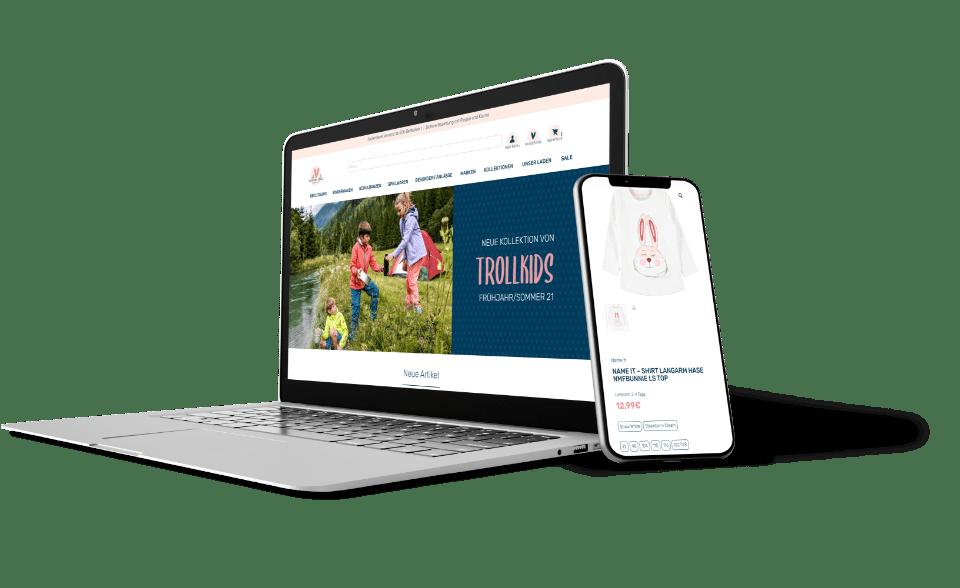 Website Agentur Onlineshop
