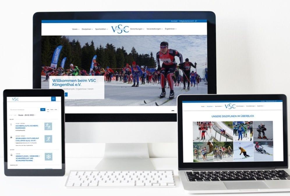 VSC Klingenthal Webdesign